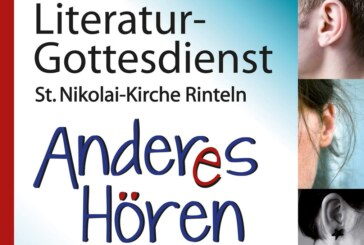 "Literaturgottesdienst ""Anderes Hören"" in St. Nikolai"