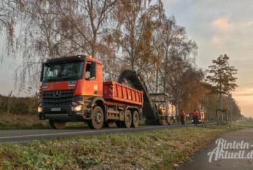 Vollsperrung: Straßenbauarbeiten am Doktorsee