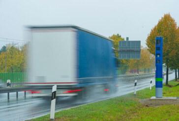 LKW-Maut: Toll Collect Kontrollsäule wird in Rinteln aufgestellt