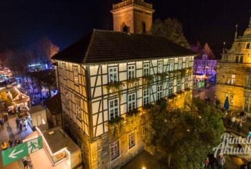 Vier Tage Kirmestrubel in der Altstadt: Rintelner Herbstmesse vom 1. bis 4. November