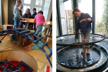 Comenius-Kindergartenkinder zu Besuch im Museum Eulenburg