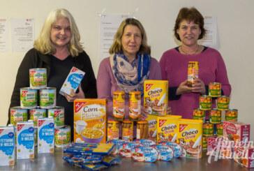 Lebensmittel vom Landfrauenverein für Rintelner Tafel
