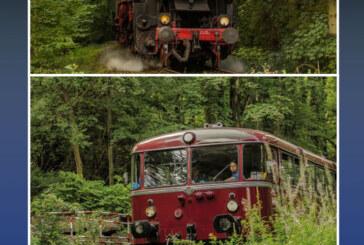 Schienenbus macht Winterpause: Eisenbahnkalender 2018 erscheint