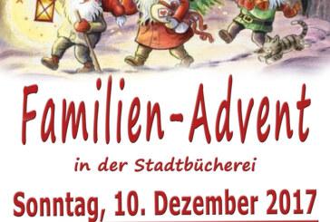 Gemeinsam die Weihnachtszeit genießen: Familien-Advent in der Stadtbücherei