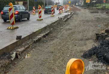 Steinbergen: Neuer Regenwasserkanal in Baustelle ab 8. Januar