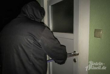 Todenmann: Einbrecher machen sich an Tür zu schaffen