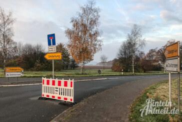 """Vollsperrung der Straße """"Am Doktorsee"""""""