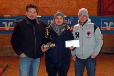 Turnierfavorit gewinnt 3. Dreambouler Indoor Cup des TSV Krankenhagen