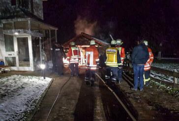Steinbergen: Feuerwehreinsatz am Sonntagabend