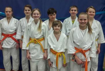 Jugendliche legen Judo-Sportabzeichen ab