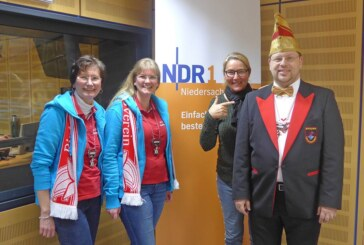 Rintelner Carnevalsverein mit närrischer NDR-Radiosendung an Rosenmontag