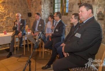 Wirtschaftsjunioren und Unternehmergespräche mit Podiumsdiskussion zum Standort Rinteln