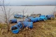 Sturmschäden in der Auenlandschaft: THW hilft bei Bergung von havariertem Schwalbenfloß