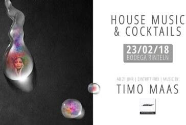 Bodega Rinteln präsentiert House Music & Cocktails mit Timo Maas