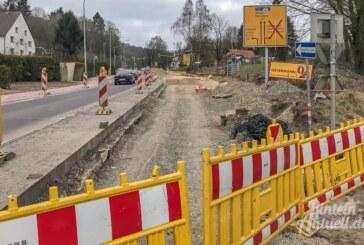 Baustelle Steinbergen: Fertigstellungstermin erneut verschoben