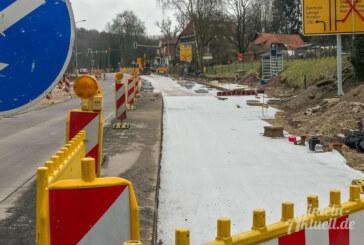 Steinbergen: Frost und Regen sorgen für weitere Verzögerung