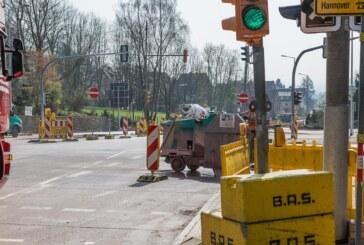 Baustelle Steinbergen: Das Ende steht fest