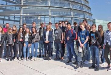 Rintelner Schüler zu Gast im Deutschen Bundestag