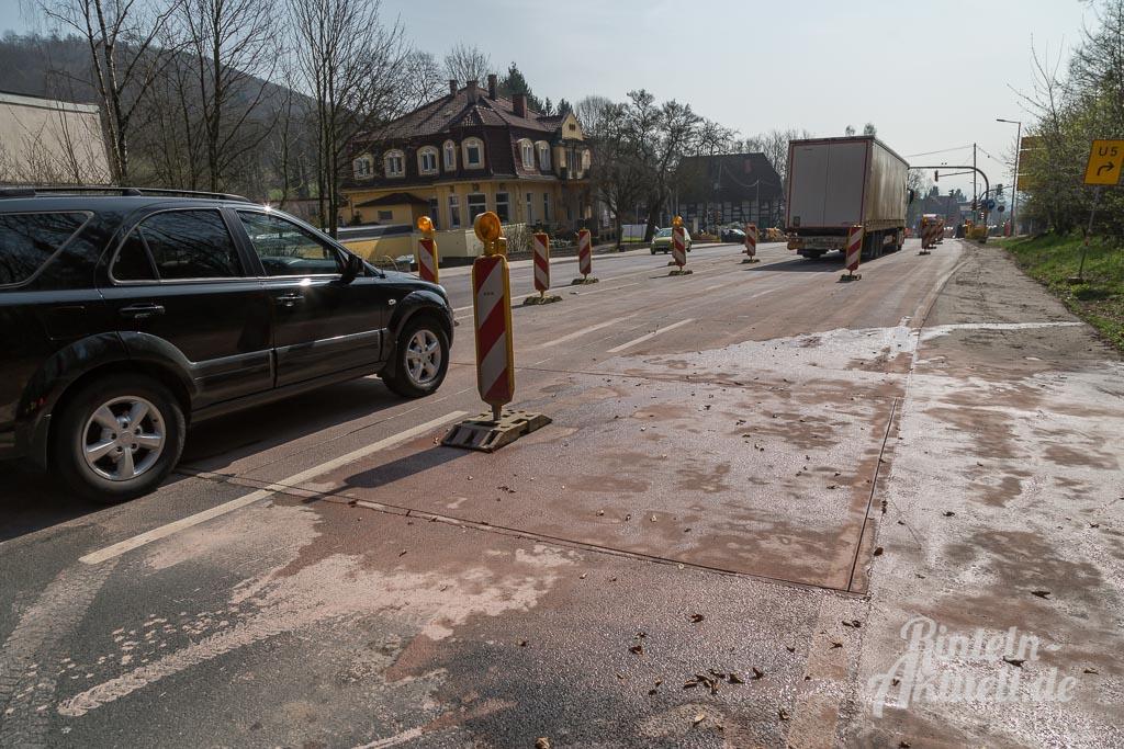 Risse Im Beton Reparieren steinbergen neue betonfahrbahn hat risse reparatur erforderlich