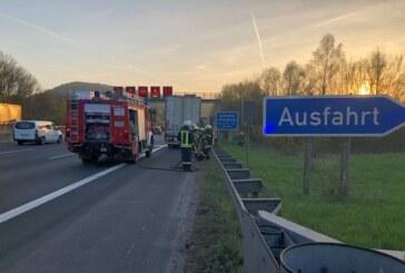 Immer wieder die A2: Vier Einsätze in zwei Tagen für Feuerwehr Rehren