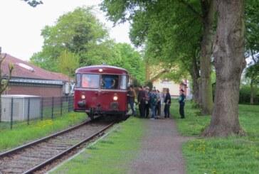 Mit dem Schienenbus auf Entdeckungsfahrt von Rinteln nach Stadthagen