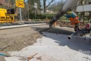 Endspurt an der Steinberger Betonkreuzung eingeläutet