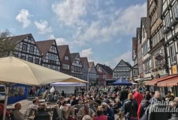 Super sonniges Sonntagsprogramm: So wars bei Rinteln mobil 2018