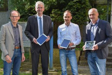 Digitale Zukunft: BBS-Schüler lernen mit Tablet-Rechnern
