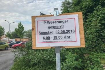 Zum Blaulichttag: Verkehrsänderungen, Einbahnstraße und Umleitung