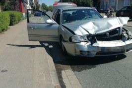 Exten: Verkehrsunfall beim Abbiegen