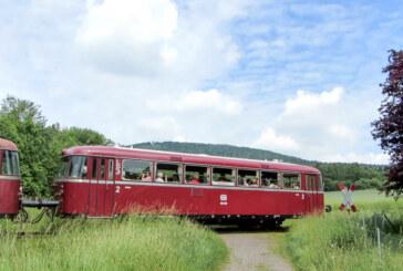 Von Rinteln nach Stadthagen: Pfingstsonntag mit dem Schienenbus auf Tour