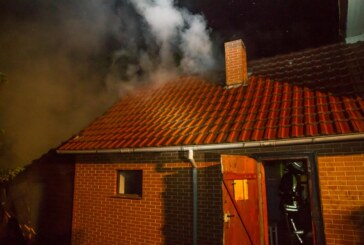 Nach Blitzeinschlag: Einsätze für Feuerwehr in Engern und Kleinenbremen