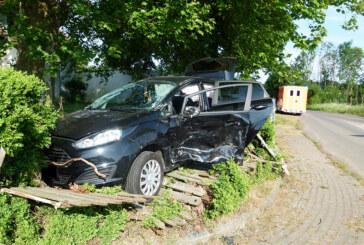 Porta: Zwei Autos kollidieren – sechs Verletzte