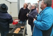 Mai-Feier in Todenmann: Feierwillige trotzen dem Wetter