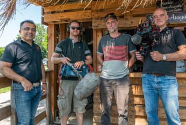 """Nordstory"": NDR-Filmteam zu Dreharbeiten am Bodega Beach Club in Rinteln"