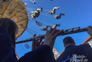 Rintelner Maimesse 2018 bei strahlend blauem Himmel feierlich eröffnet