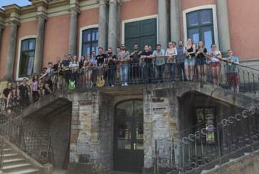 Tolle Truppe: Ernestinum Bigband Seniors üben für Jubiläumskonzert auf Rintelner Marktplatz