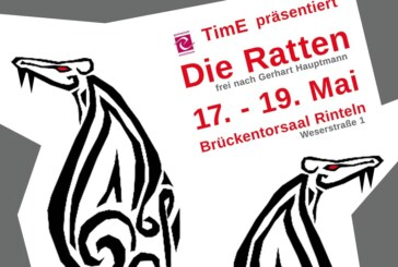 """Theater im Ernestinum präsentiert """"Die Ratten"""" im Brückentorsaal"""