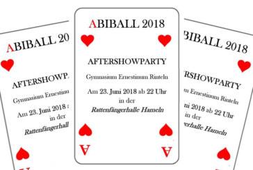 Abi-Ball 2018: Karten für die After-Show-Party im Gymnasium erhältlich