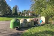 Müllentsorgung an Glascontainern kann teuer werden