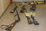 Frist läuft ab: Waffen und Munition jetzt abgeben