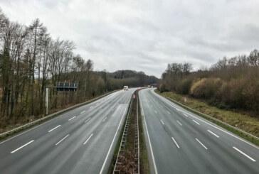 A2 bei Veltheim: Bauarbeiten mit Teilsperrungen angekündigt
