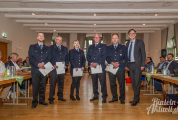 Feuerwehrwesen im Rat: Ortsbrandmeister ernannt