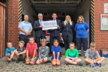 Volksbank in Schaumburg spendet 1.000 Euro an Feuerwehr-Nachwuchs