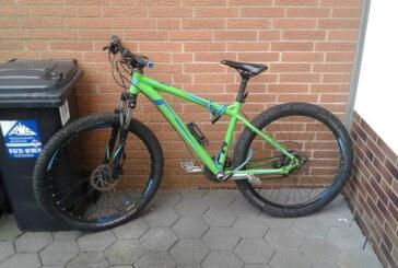 Polizei sucht Besitzer dieses grünen Mountainbikes