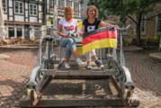 Stadtmarketing im WM-Fieber: Mit Trikot Draisine fahren und sparen