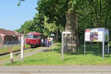 Am Sonntag mit dem Schienenbus von Rinteln nach Stadthagen unterwegs