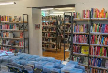 Großer Bücherflohmarkt in der Stadtbücherei: Lesestoff zu Mini-Preisen mit Kaffeetafel der Stiftung für Rinteln