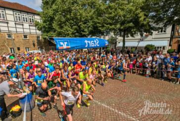 Perfektes Sportwetter beim 18. Rintelner Volksbank-Lauf