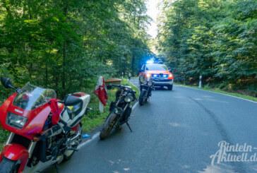 Zwei Motorrad-Unfälle zwischen Goldbeck und Friedrichswald: Rettungshubschrauber im Einsatz